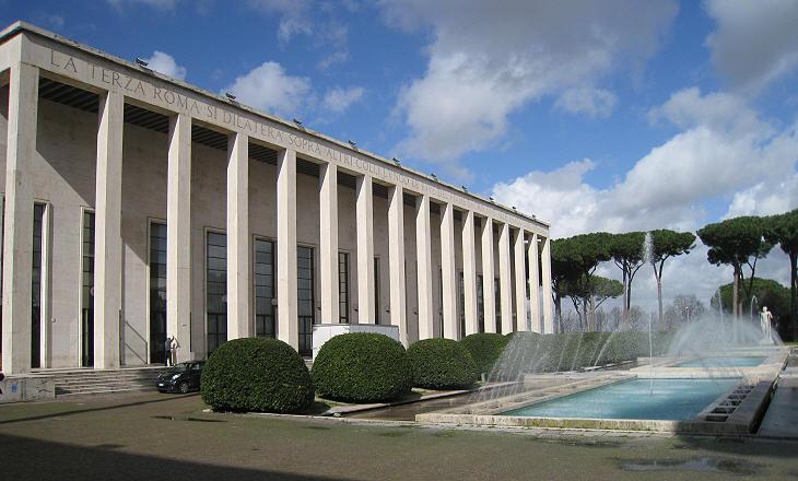 In mostra l 39 architettura della roma fascista di giuseppe for Architettura fascista