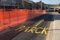 """ANCONA: Anche la scritta sbagliata """"parck"""" fa aumentare il caos alla stazione"""