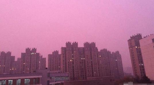 cina_smog_tramonto
