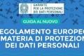 PROFESSIONE: Regolamento dati personali, individuazione rischi, impatto, tutorial Garante